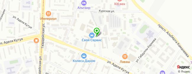 Магазин автозапчастей INOMARKA16.RU — схема проезда на карте