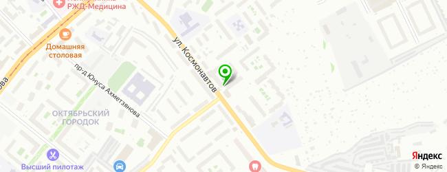 Сервисный центр Бизнес Айти — схема проезда на карте