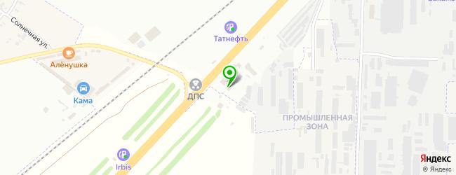 Автосалон Юнионлайн — схема проезда на карте