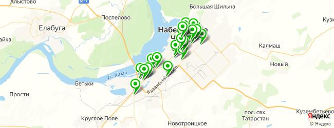 компьютерная помощь на карте Набережных Челнов