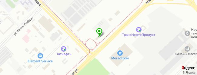 Автосалон АВЦ — схема проезда на карте