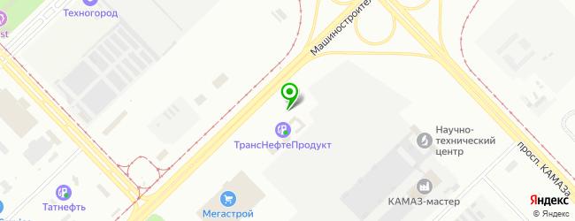 Автосалон Лада Авто — схема проезда на карте