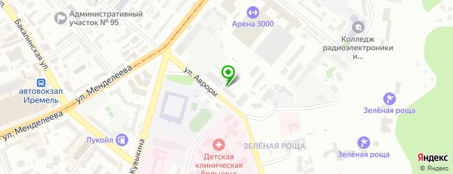 Автосервис Ак Мастер — схема проезда на карте
