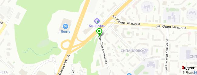 Оптово-розничная компания АВТОСФЕРА — схема проезда на карте