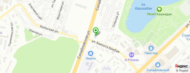 Автотехцентр АвтоМаркетСервис — схема проезда на карте