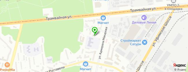 Оптово-розничная компания МонтажКапитал — схема проезда на карте