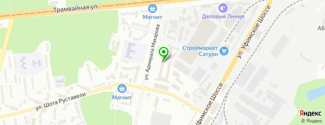 Торговая компания Colorium — схема проезда на карте