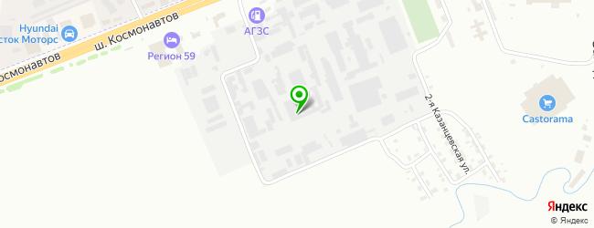 Дизельный сервисный центр ДизельСервис-Пермь — схема проезда на карте