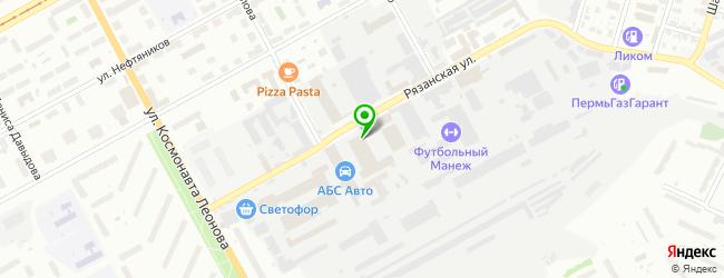 Специализированный центр ремонта и обслуживания ГАЗелей ГАЗ — схема проезда на карте