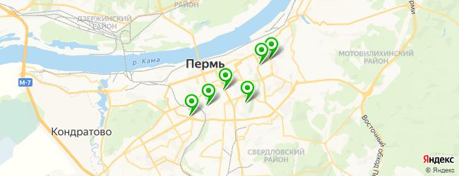 магазин упаковки подарков на карте Перми