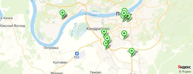 магазин шин и дисков на карте Перми