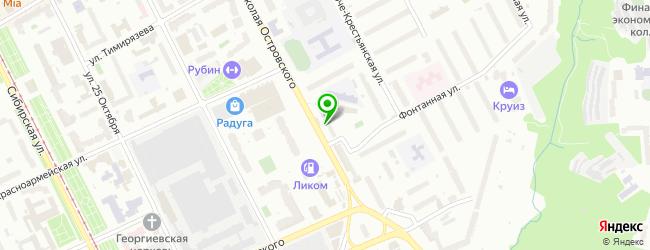 Торгово-установочная компания АвтоМастерГаз — схема проезда на карте