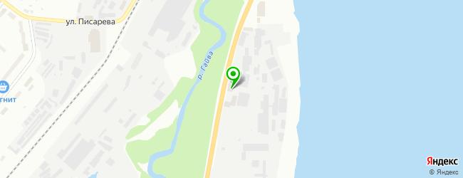 Автокомплекс Чистомойка — схема проезда на карте