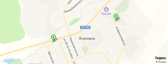 мебельная мастерская на карте Агаповки