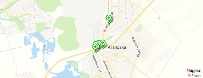 магазин запчастей на карте Агаповки