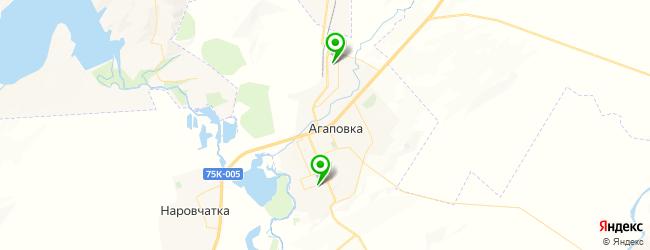 школы на карте Агаповки