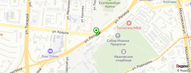 Рск-сервис — схема проезда на карте