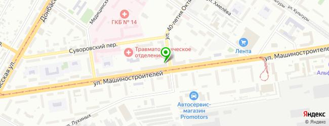 Комиссионный компьютерный салон Кс Винт — схема проезда на карте