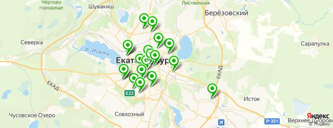 кинотеатр на карте Екатеринбурга