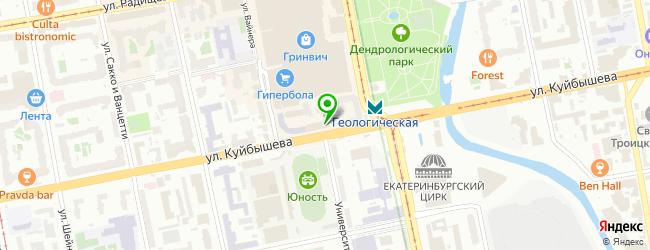 IT-компания Админ-Сервис — схема проезда на карте