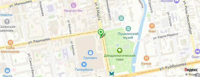"Сервисный центр ""У Гринвича"" — схема проезда на карте"