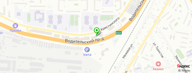 Торгово-сервисная компания Альянс ПК — схема проезда на карте