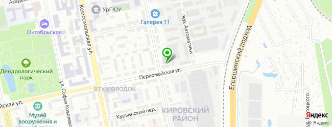 Сервисная компания ИнтерПро — схема проезда на карте