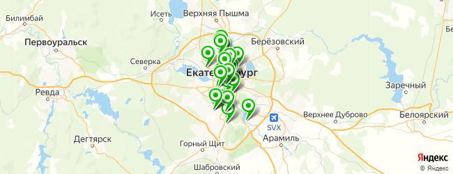 компьютерная помощь на карте Екатеринбурга