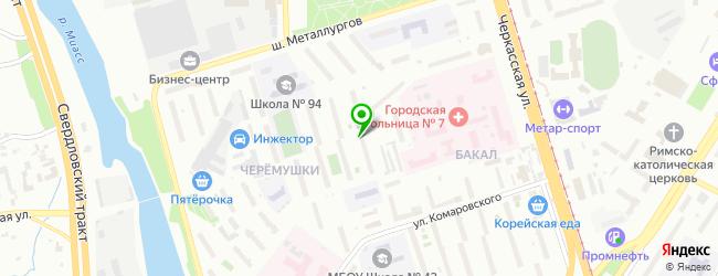 Спортивно-оздоровительный комплекс Fit Zone — схема проезда на карте