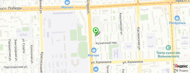 Ресторан Ля Бушери — схема проезда на карте