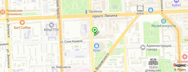 Домашний ресторан Overtime — схема проезда на карте
