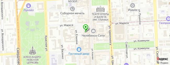 Развлекательный комплекс Marka — схема проезда на карте