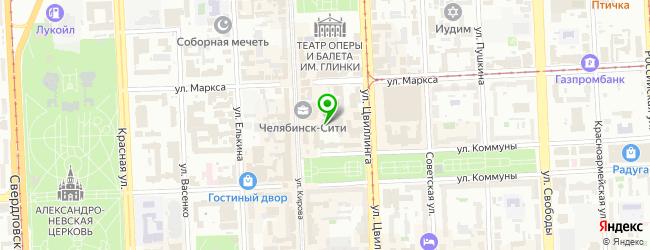 Ресторан БульВар — схема проезда на карте