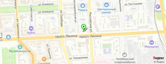Ресторан Слон — схема проезда на карте