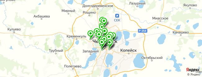 ритуальные агентства на карте Челябинска