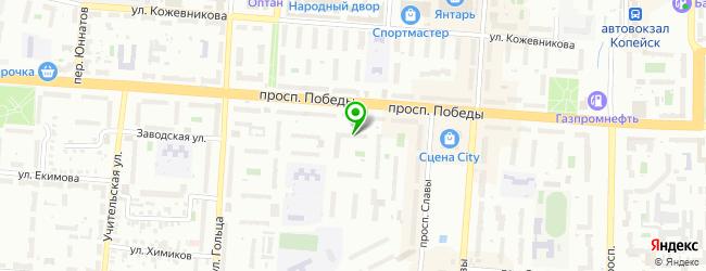 Сервисный центр ТехБюро — схема проезда на карте