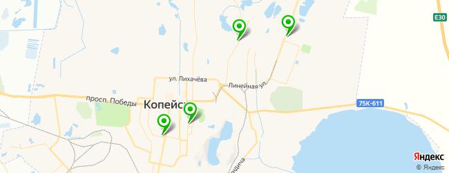 дома культуры на карте Копейска