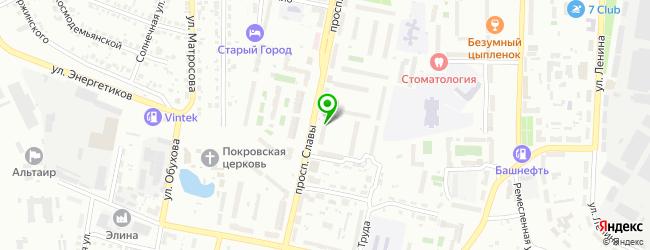Торгово-сервисная фирма Нано-электрик — схема проезда на карте