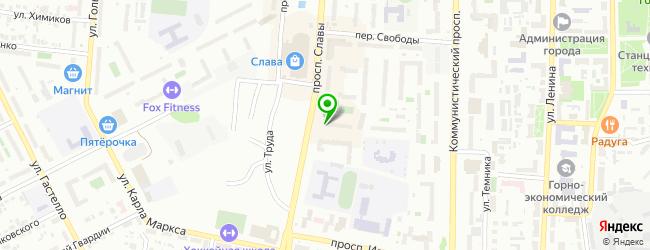 Стоматологическая клиника Кассис — схема проезда на карте