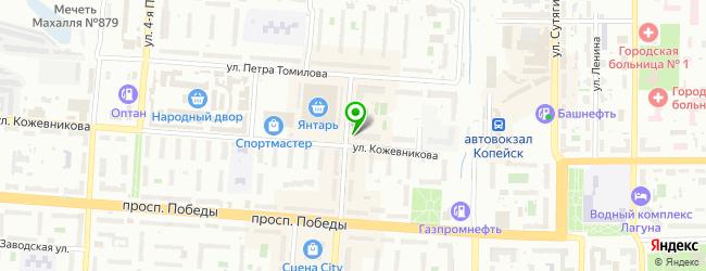 Ателье Modist — схема проезда на карте