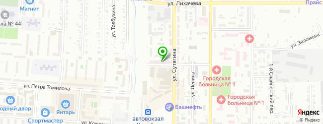 Столовая Русь — схема проезда на карте