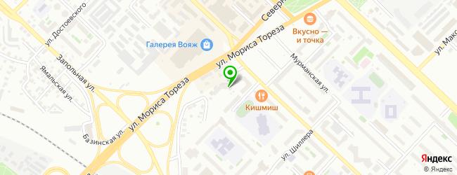 Фитнес-клуб TITANIUM — схема проезда на карте