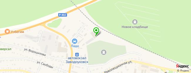 Мастерская Автостекло — схема проезда на карте