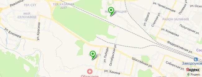 пункт приема металлолома на карте Заводоуковска