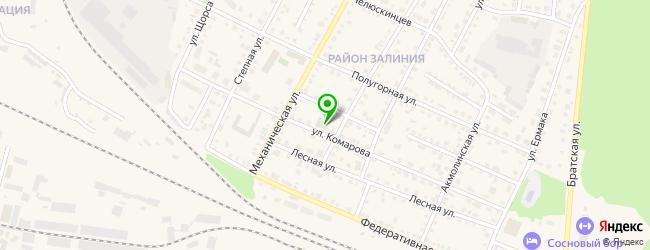 Кафе-бар Pub-Zavod — схема проезда на карте