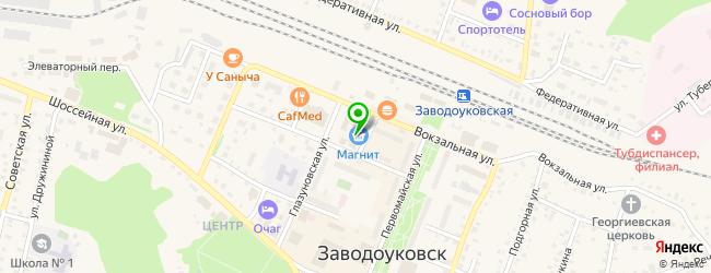 Банкомат ХАНТЫ-МАНСИЙСКИЙ БАНК ОТКРЫТИЕ — схема проезда на карте