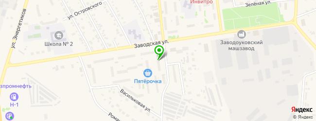 Компания по продаже и ремонту мототехники Скутер72 — схема проезда на карте