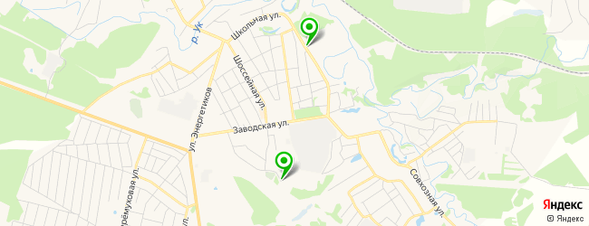автоуслуги на карте Заводоуковска
