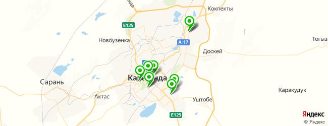 кафетерий на карте Караганды