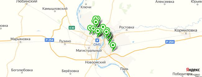 компьютерная помощь на карте Омска